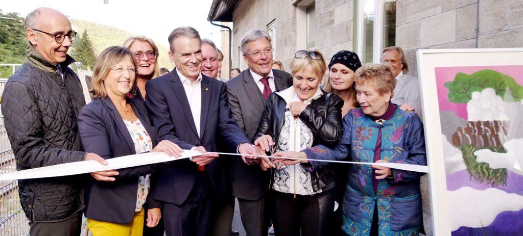 Eröffnung Kunstbahnhof Wörthersee (LPD/Steinacher)