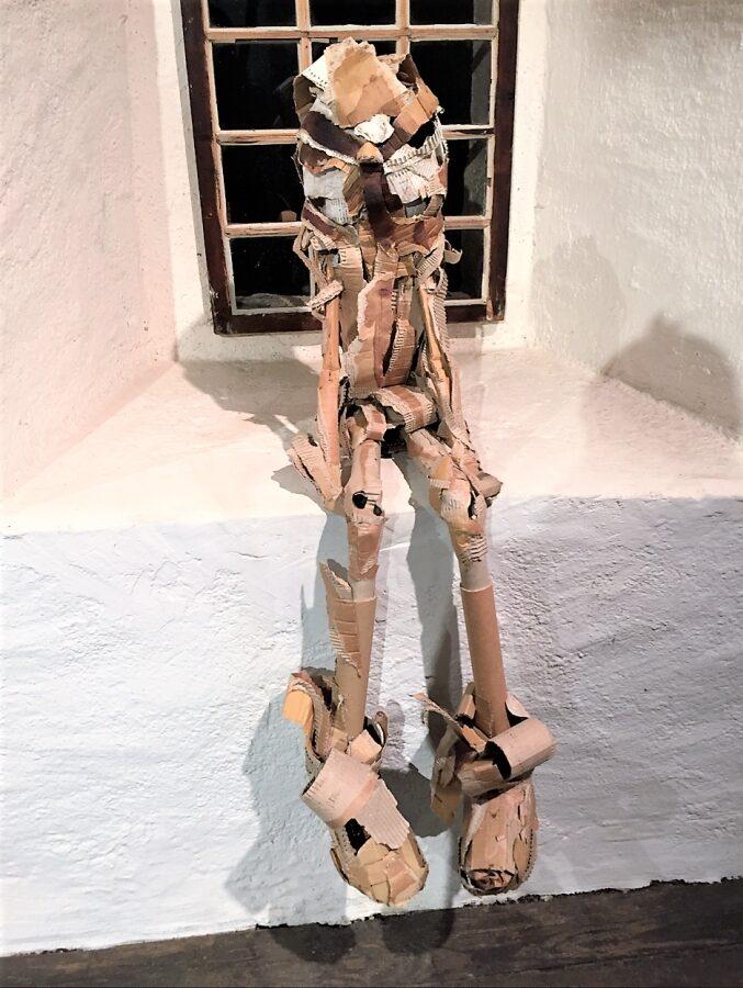 Abbildung: Vogelmensch von Nina Herzog