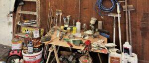 Ateliereinblick bei Nina Herzog